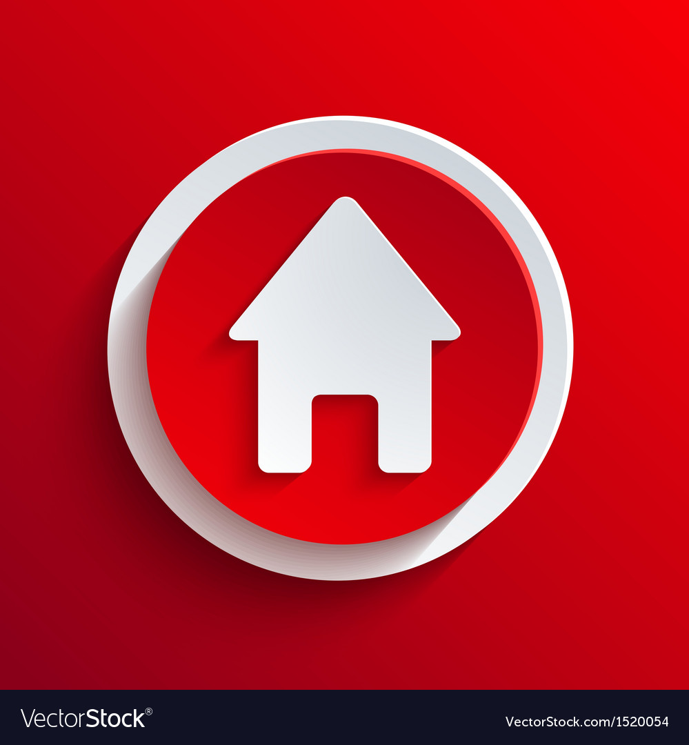 Red circle icon eps10 vector | Price: 1 Credit (USD $1)