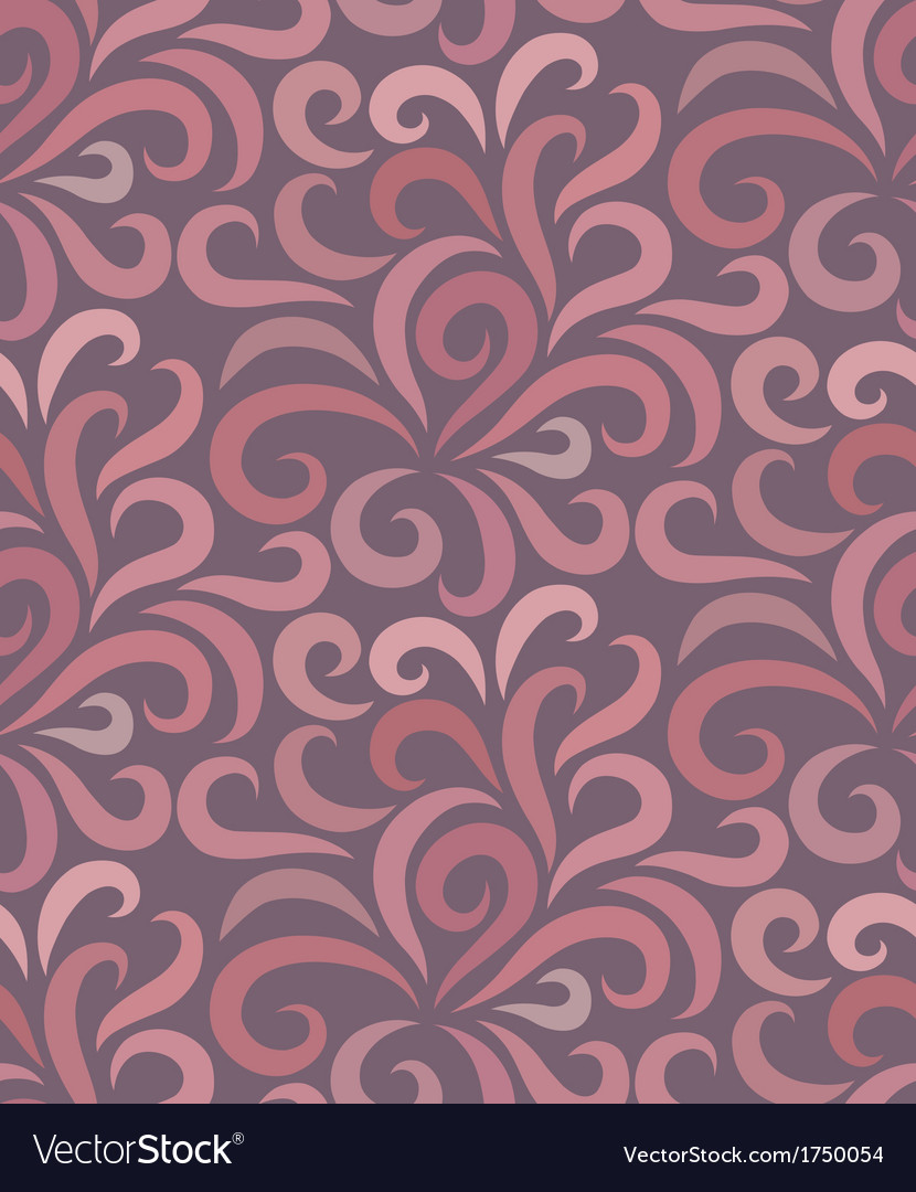 Swirl shape pattern seamless vector | Price: 1 Credit (USD $1)