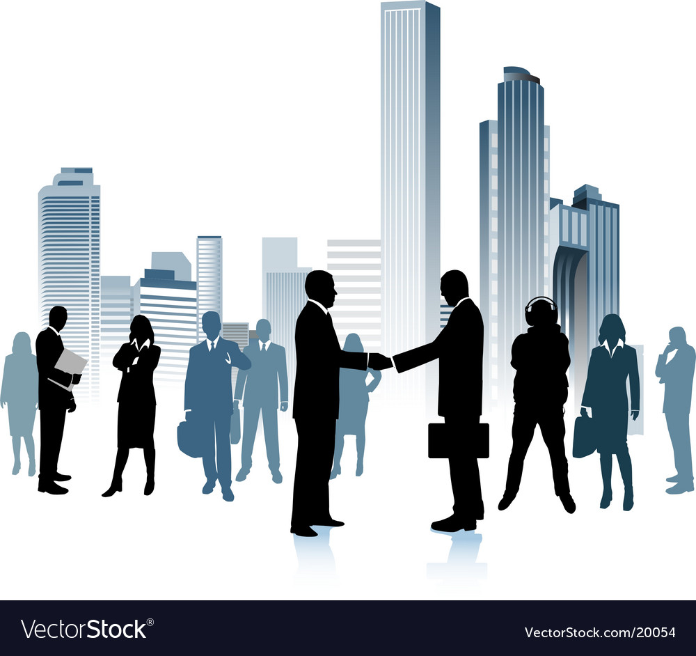 Urban people vector | Price: 1 Credit (USD $1)