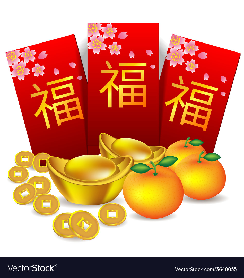 Chinese new year red packet vector | Price: 1 Credit (USD $1)