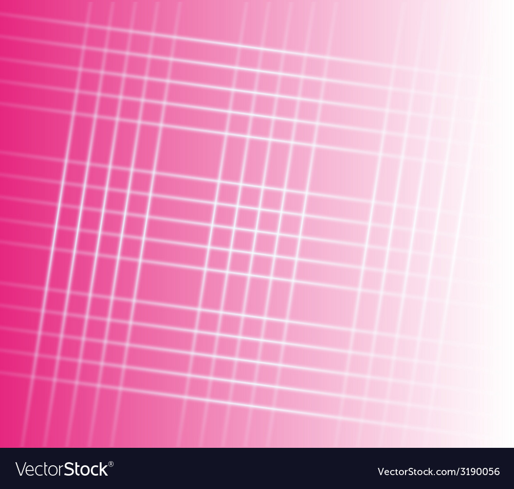 Abstract stripes square grid on pink background vector