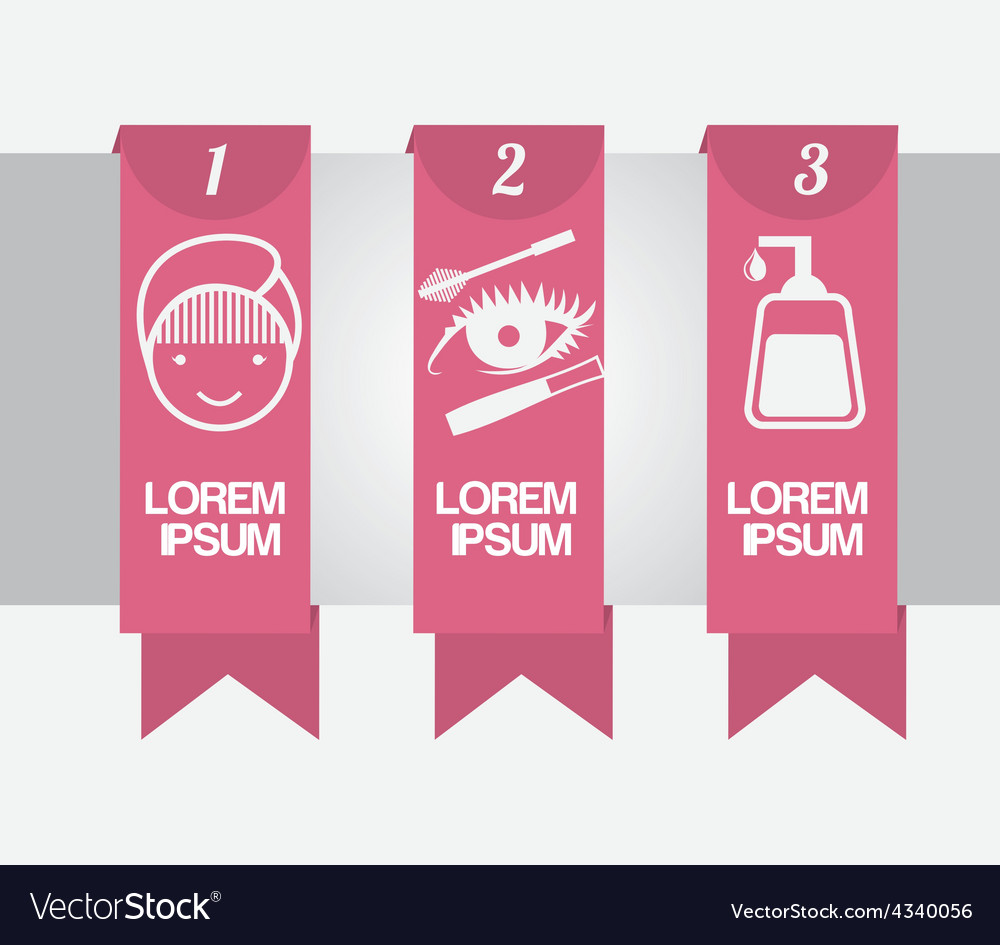 Make up infographics vector | Price: 1 Credit (USD $1)