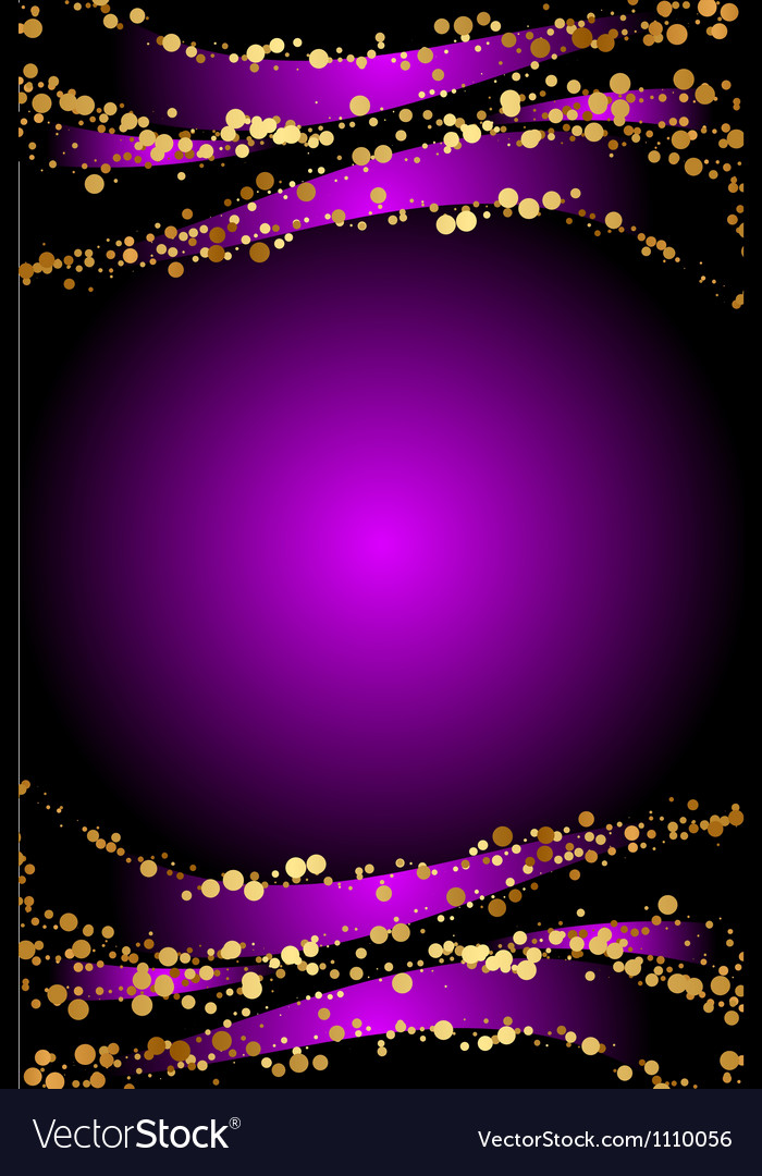 Purple christmas background vector | Price: 1 Credit (USD $1)