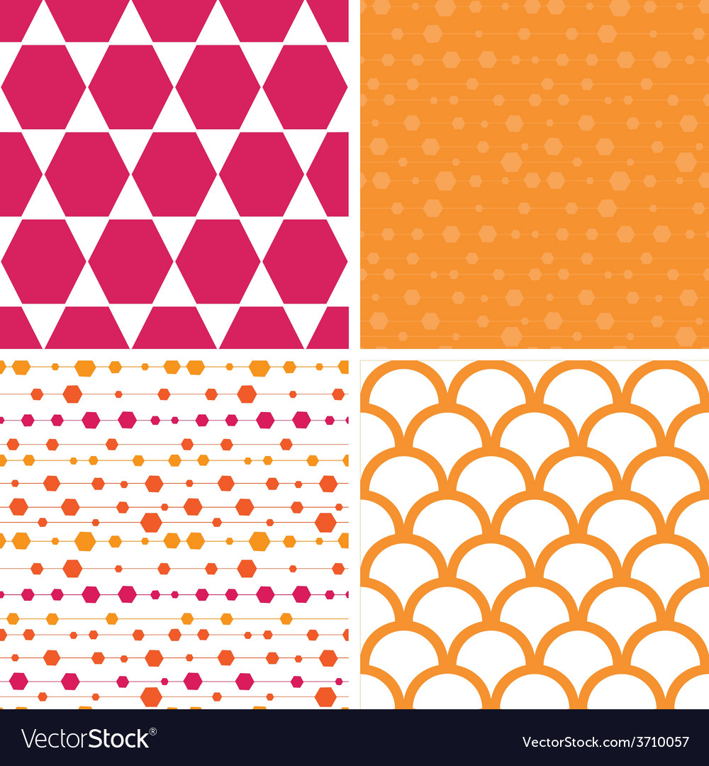 Abstract colorful stripes and shapes set of vector | Price: 1 Credit (USD $1)