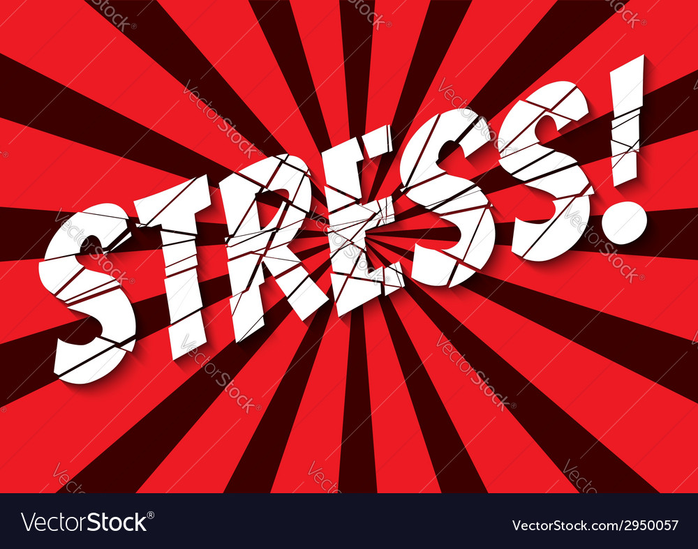 Stress vector | Price: 1 Credit (USD $1)