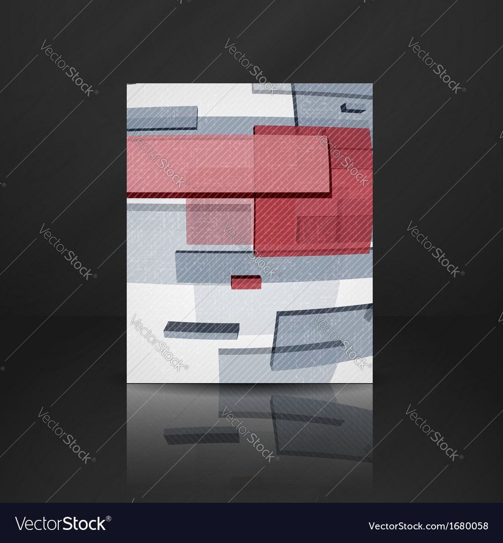 Abstract rectangle background vector | Price: 1 Credit (USD $1)