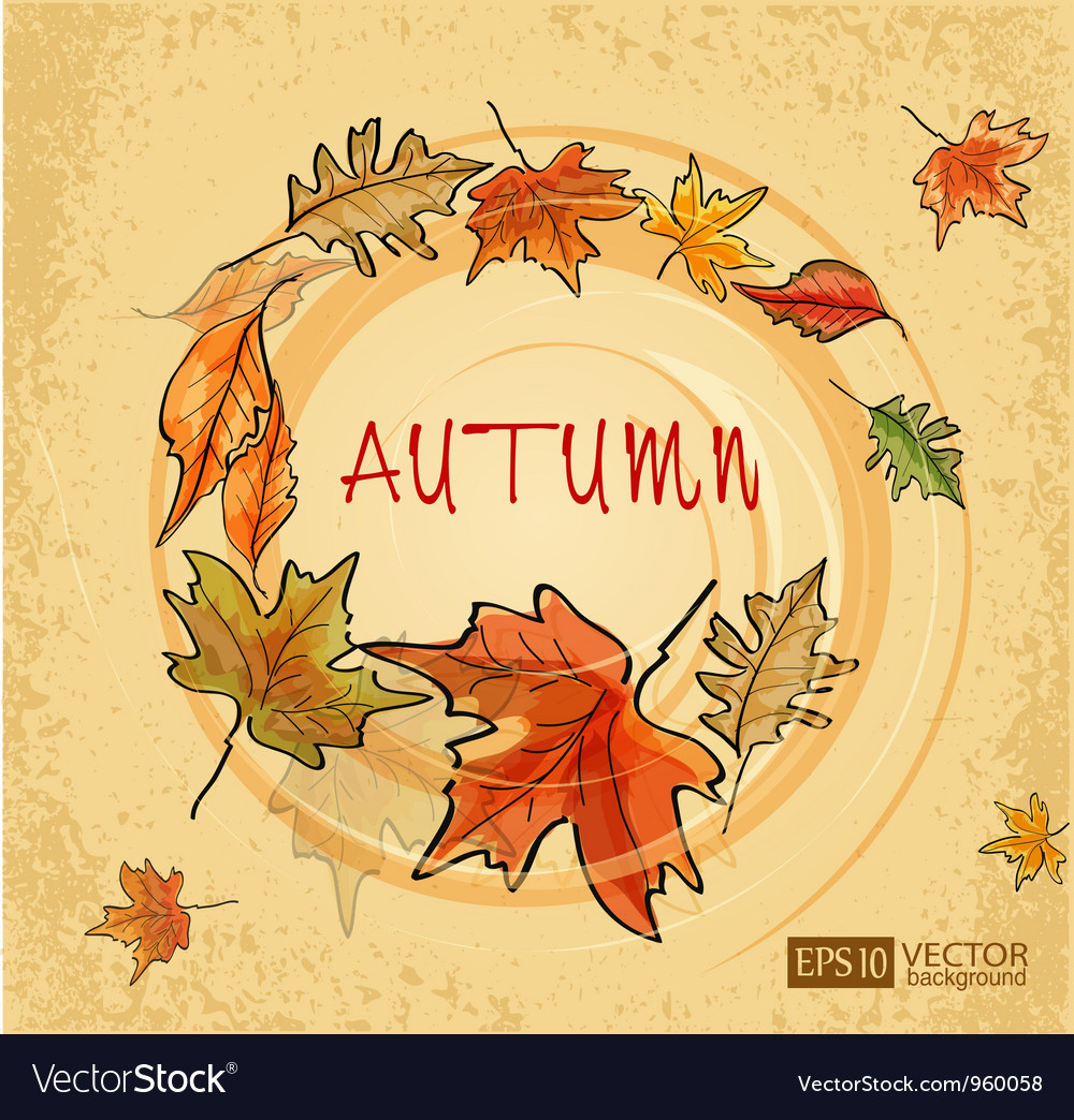 Autumn vs vector | Price: 1 Credit (USD $1)