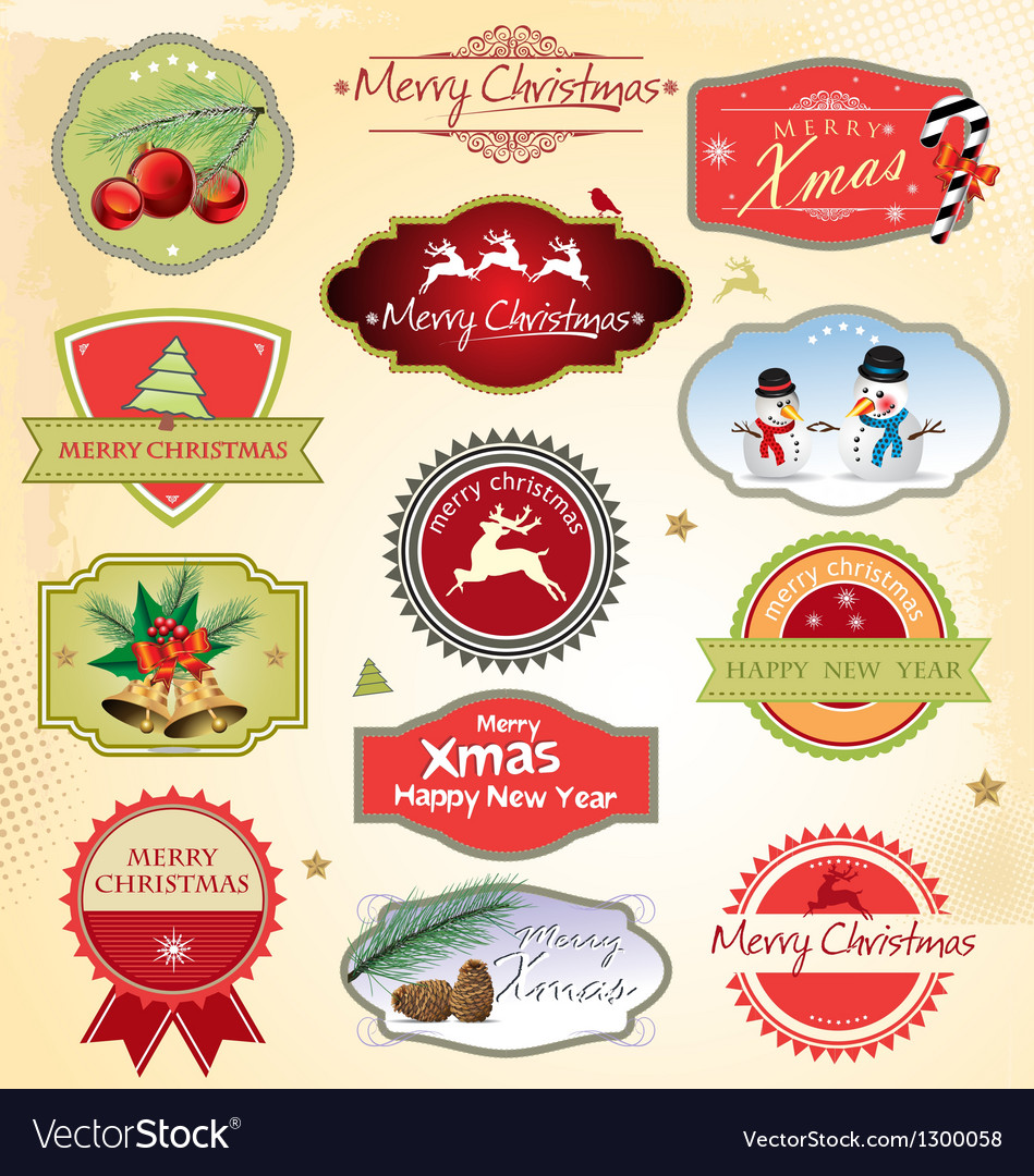 Christmas design element vector | Price: 1 Credit (USD $1)