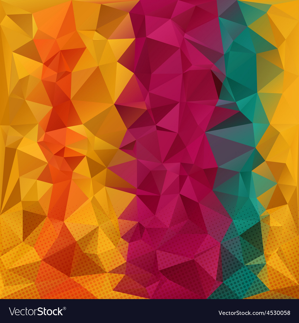 Color strips pologon vector | Price: 1 Credit (USD $1)