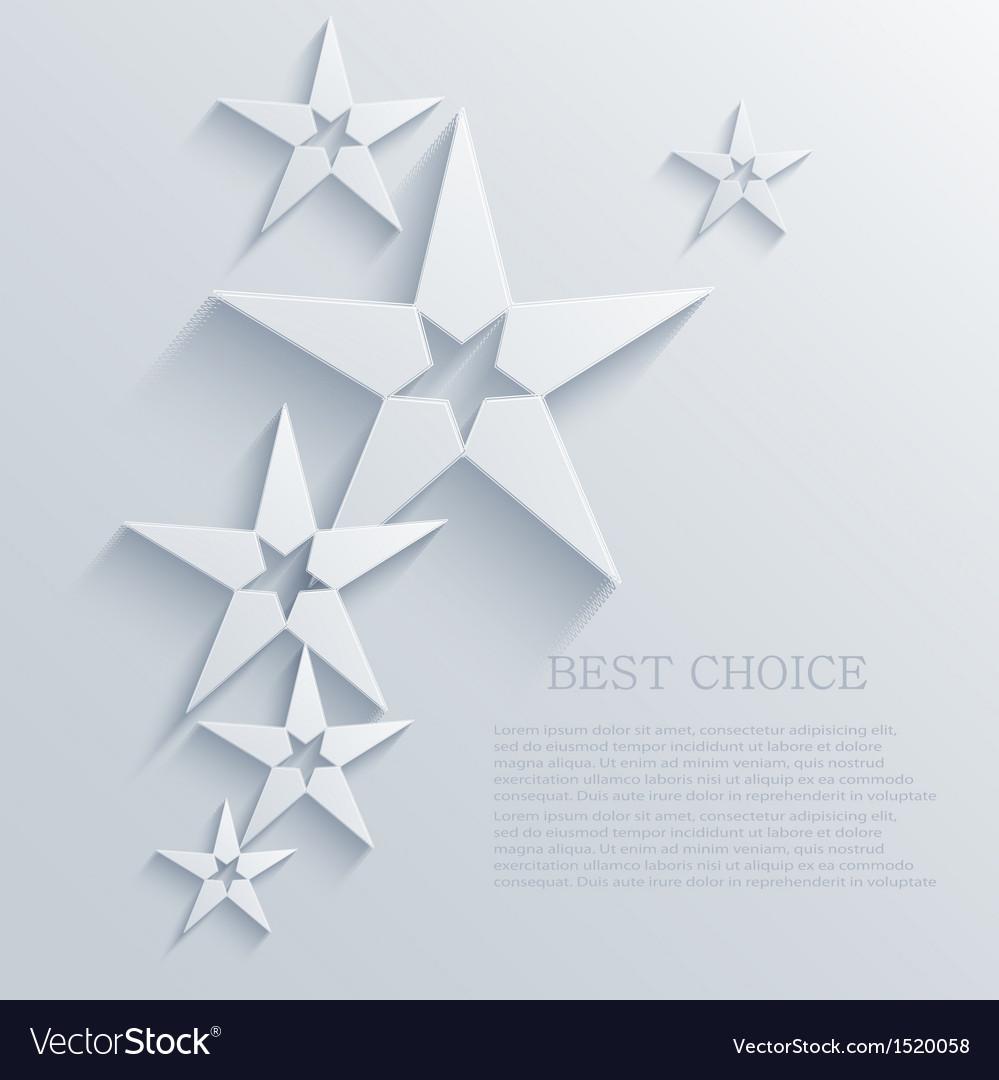 Star background design eps10 vector | Price: 1 Credit (USD $1)