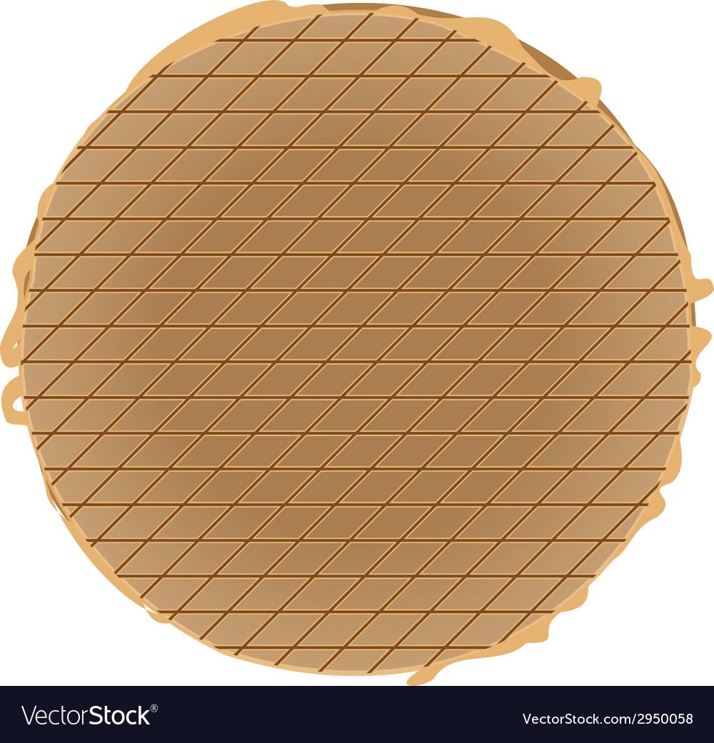 Stroopwafel vector | Price: 1 Credit (USD $1)