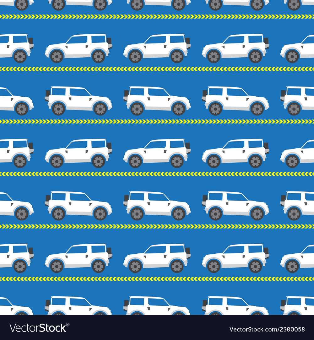 White automobiles vector | Price: 1 Credit (USD $1)
