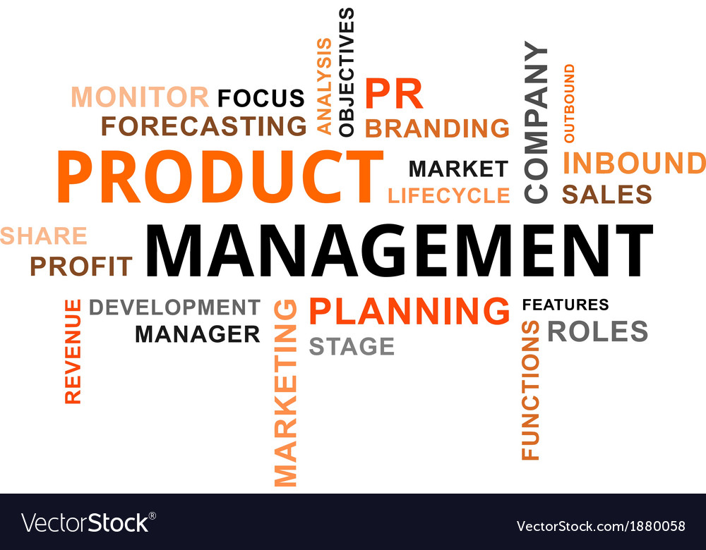 Word cloud product management vector | Price: 1 Credit (USD $1)