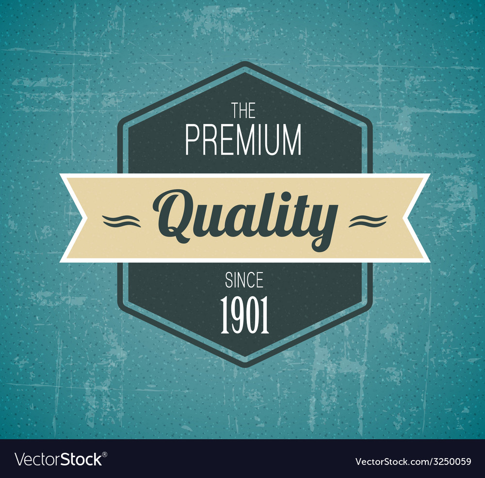 Old dark retro vintage grunge label vector | Price: 1 Credit (USD $1)