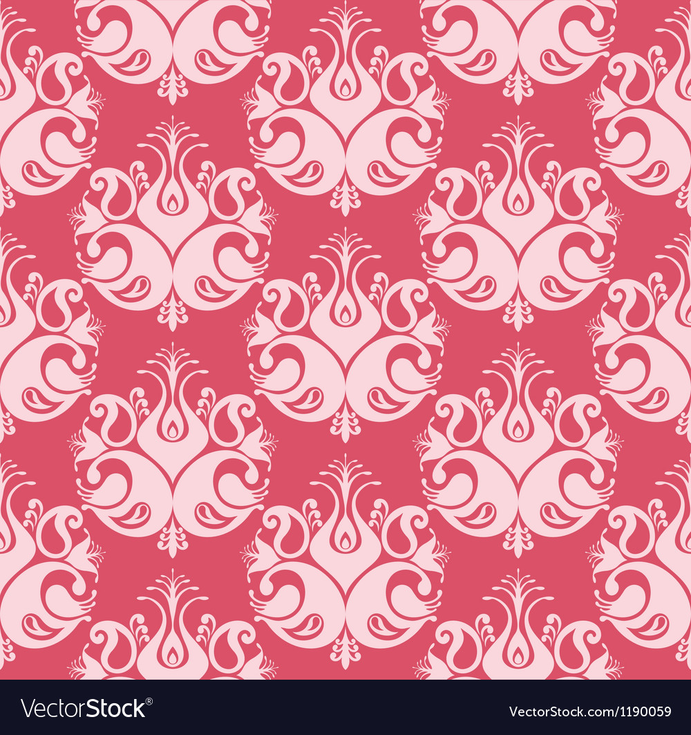 Repeat pattern peacock vector | Price: 1 Credit (USD $1)