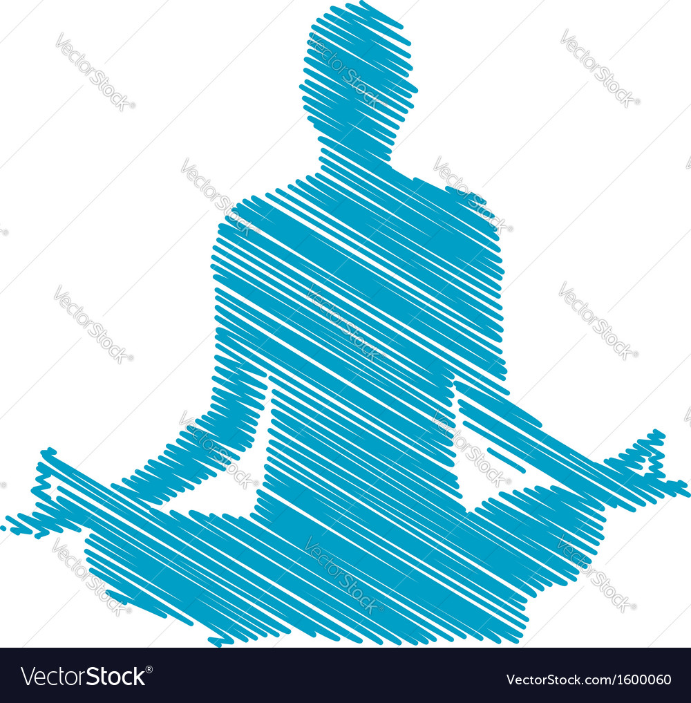 Meditation and hypnosis vector | Price: 1 Credit (USD $1)