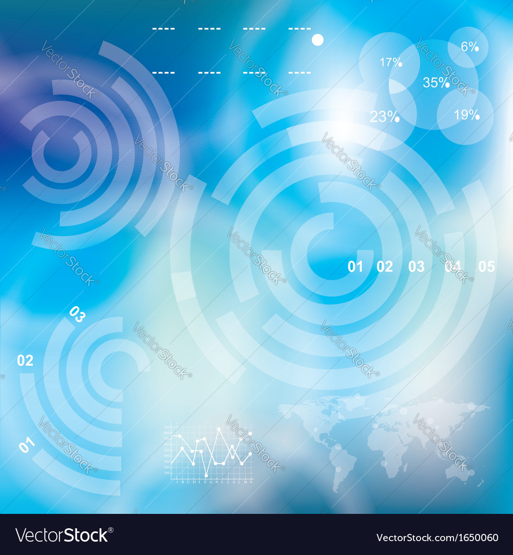 Modern virtual technology background vector | Price: 1 Credit (USD $1)