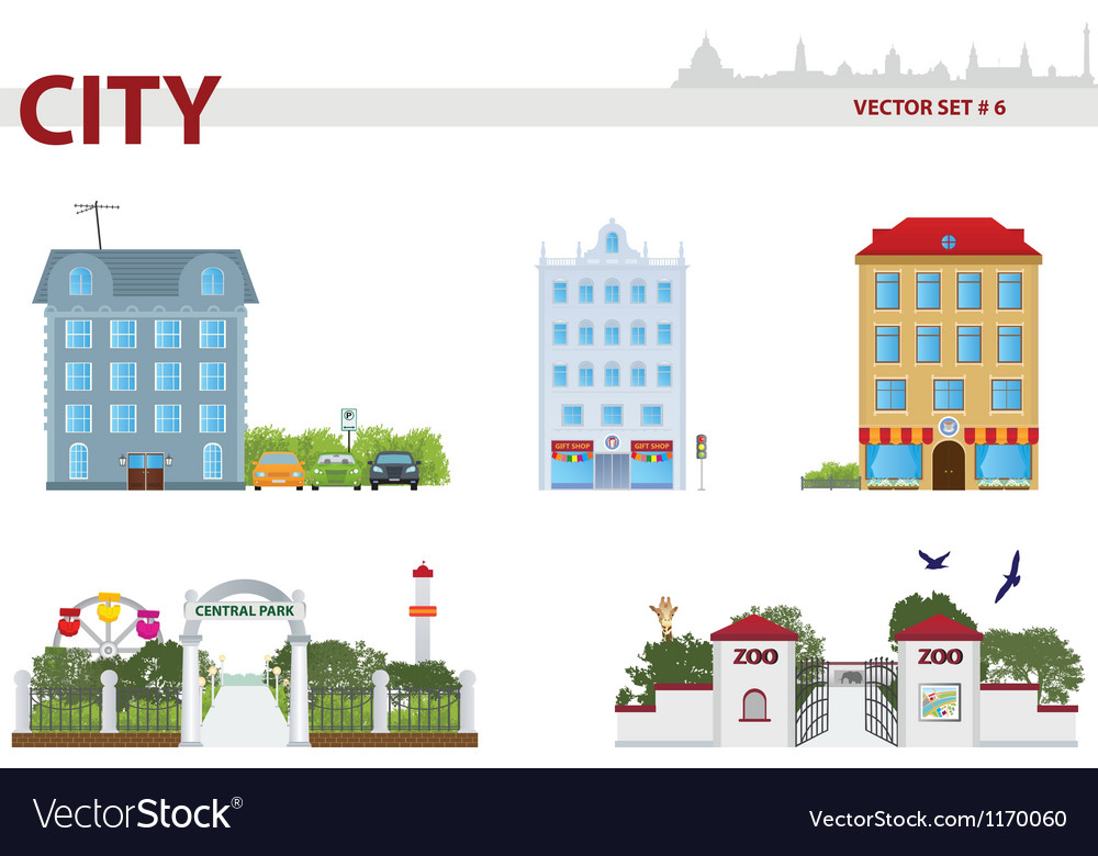 Public building vector | Price: 3 Credit (USD $3)