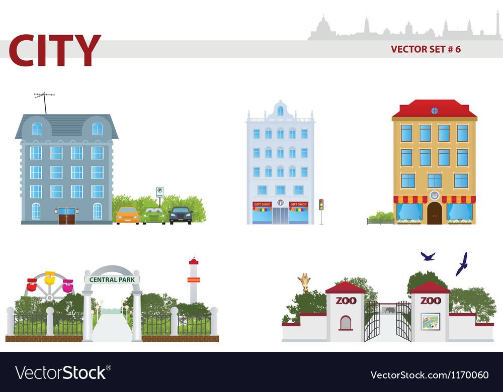 Public building vector | Price: 3 Credit (USD $3)