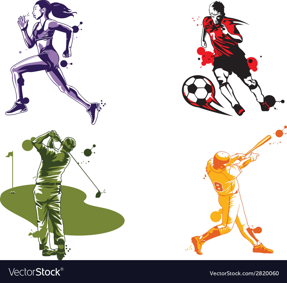 Sports vector | Price: 1 Credit (USD $1)