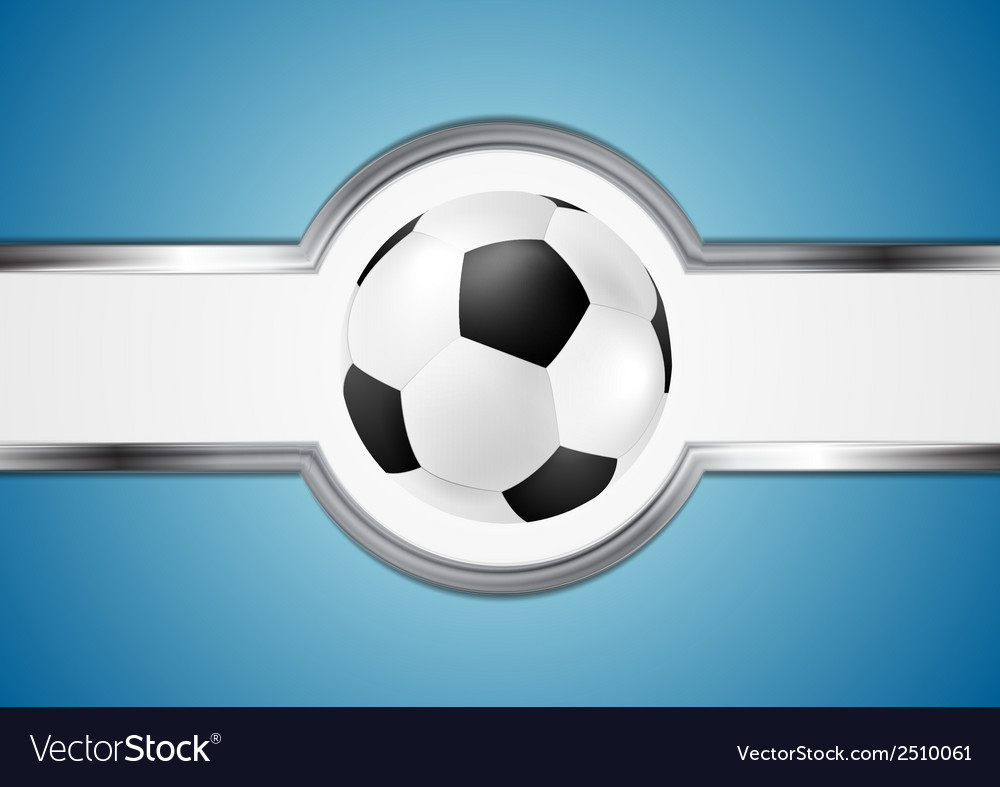 Abstract football design vector | Price: 1 Credit (USD $1)