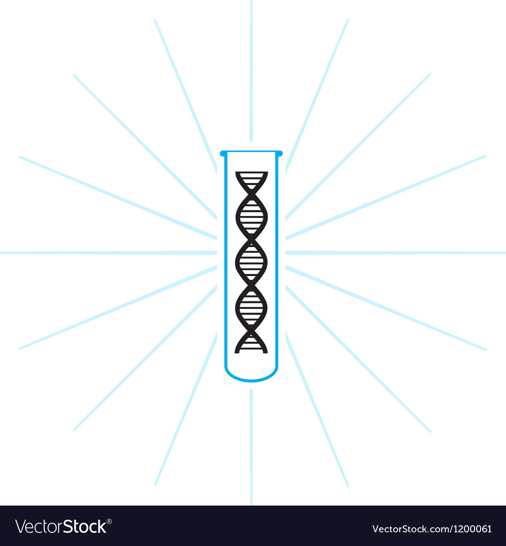 Test tube dna vector | Price: 1 Credit (USD $1)