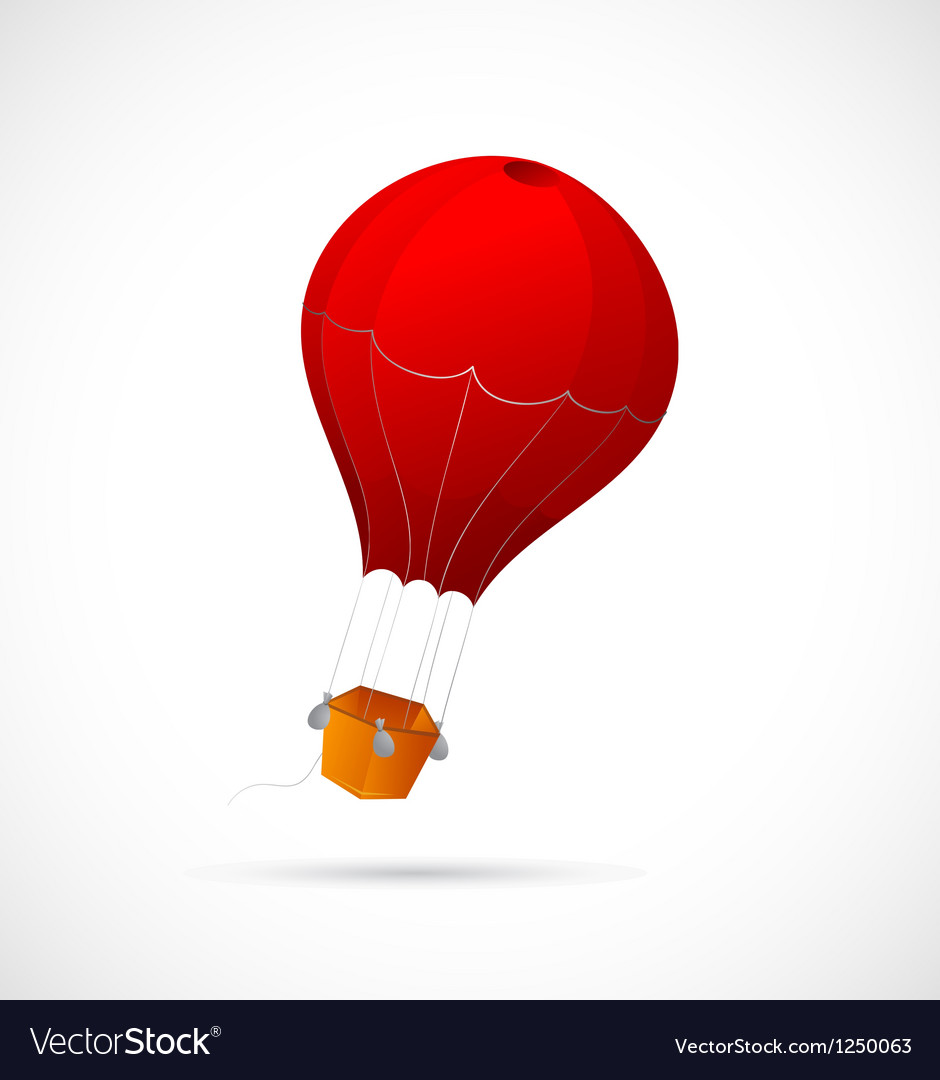 Air balloon cartoon vector | Price: 1 Credit (USD $1)