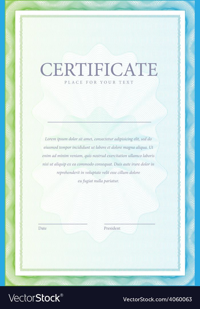 Certificate pattern vector | Price: 1 Credit (USD $1)