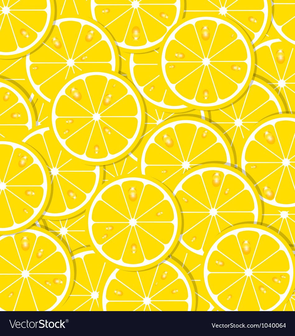 Lemon slices vector | Price: 1 Credit (USD $1)