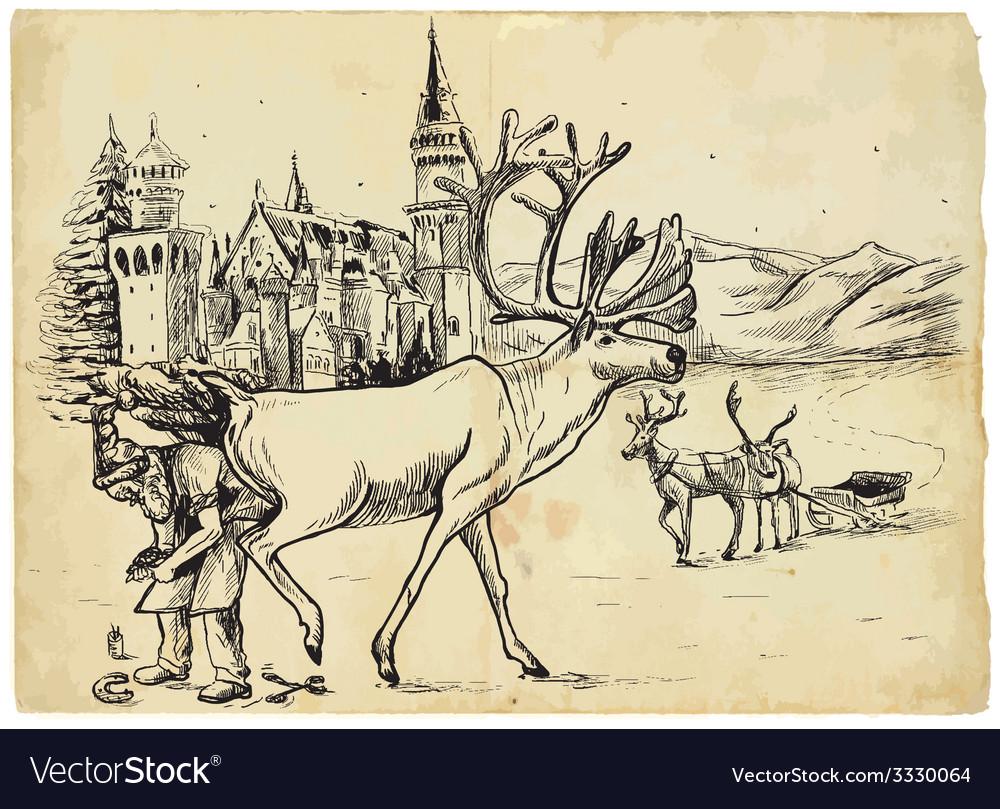 Santa claus vector | Price: 3 Credit (USD $3)