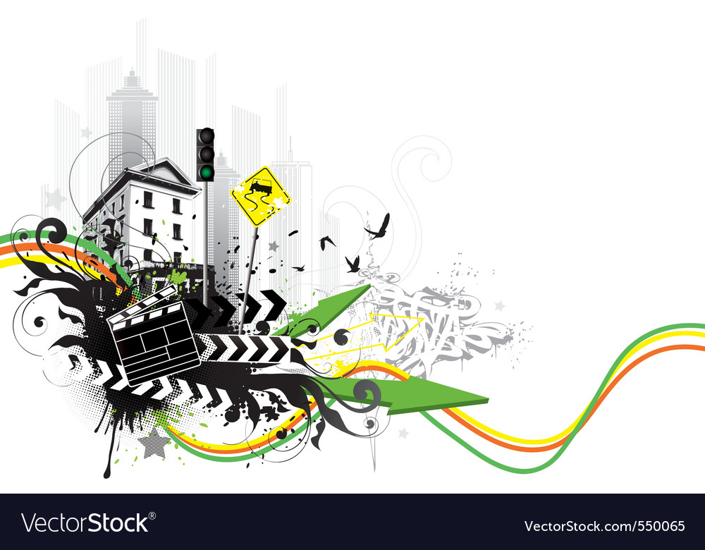 City abstraction vector | Price: 1 Credit (USD $1)