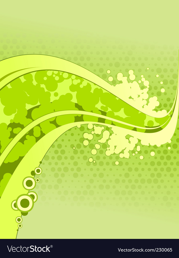 Green abstraction vector | Price: 1 Credit (USD $1)