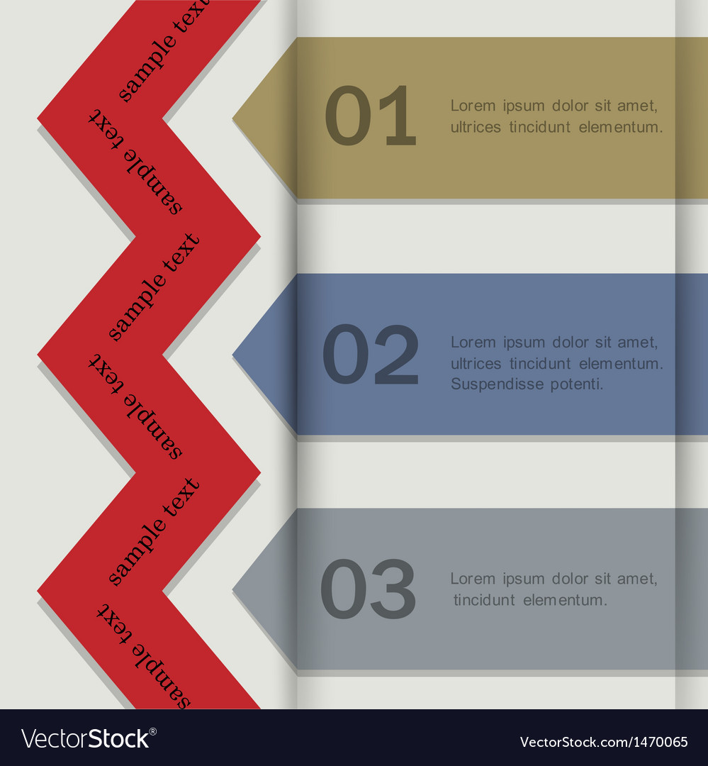 Paper banners for infographics vector | Price: 1 Credit (USD $1)