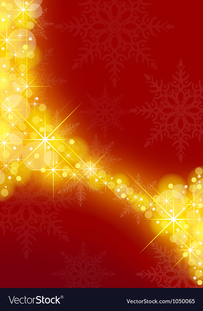 Starry xmas background vector | Price: 1 Credit (USD $1)