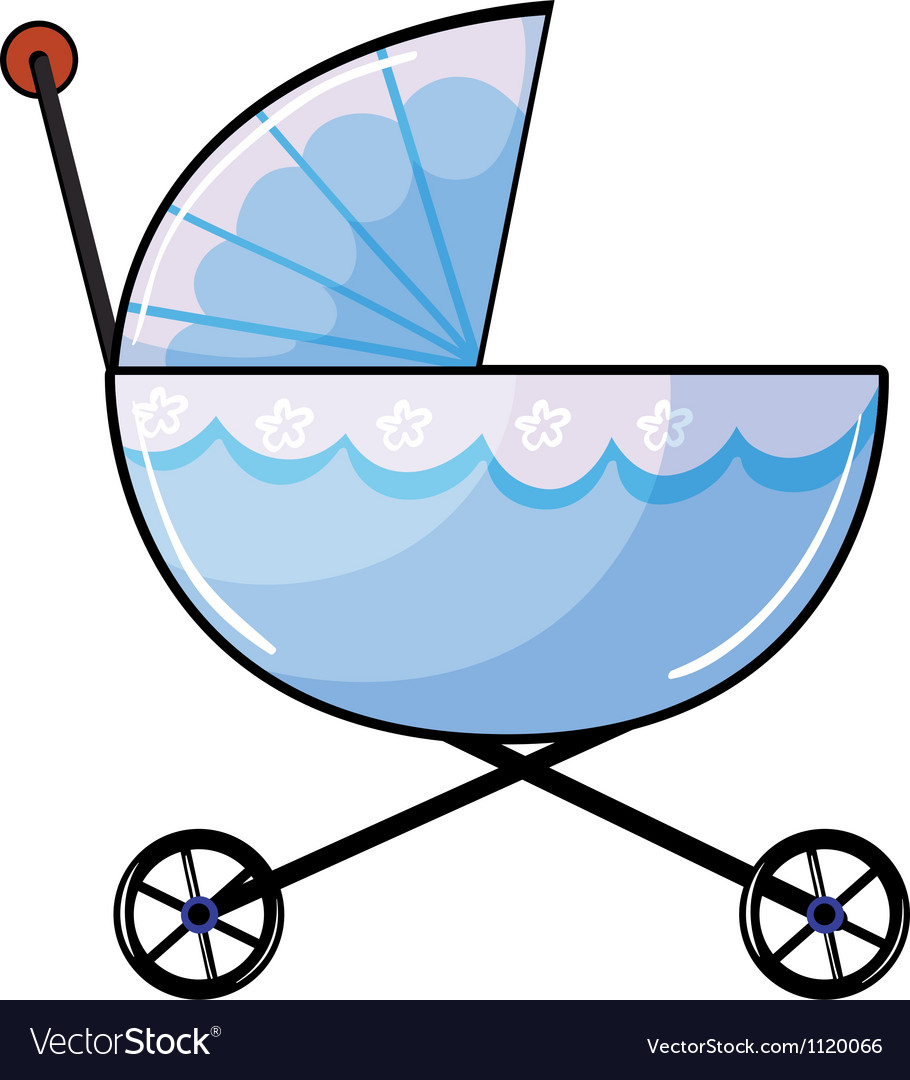 A baby pram vector | Price: 1 Credit (USD $1)