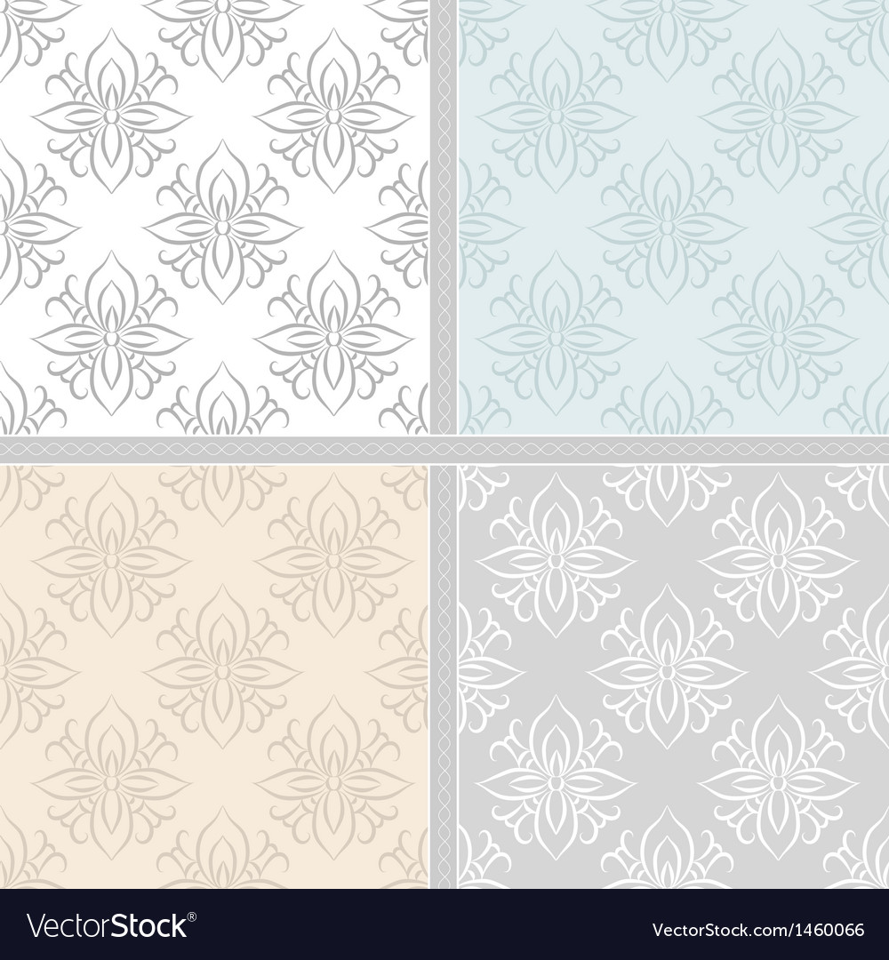 Damask ethnic textile pattern vector | Price: 1 Credit (USD $1)