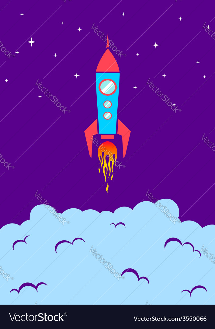 Rocket new vector | Price: 1 Credit (USD $1)