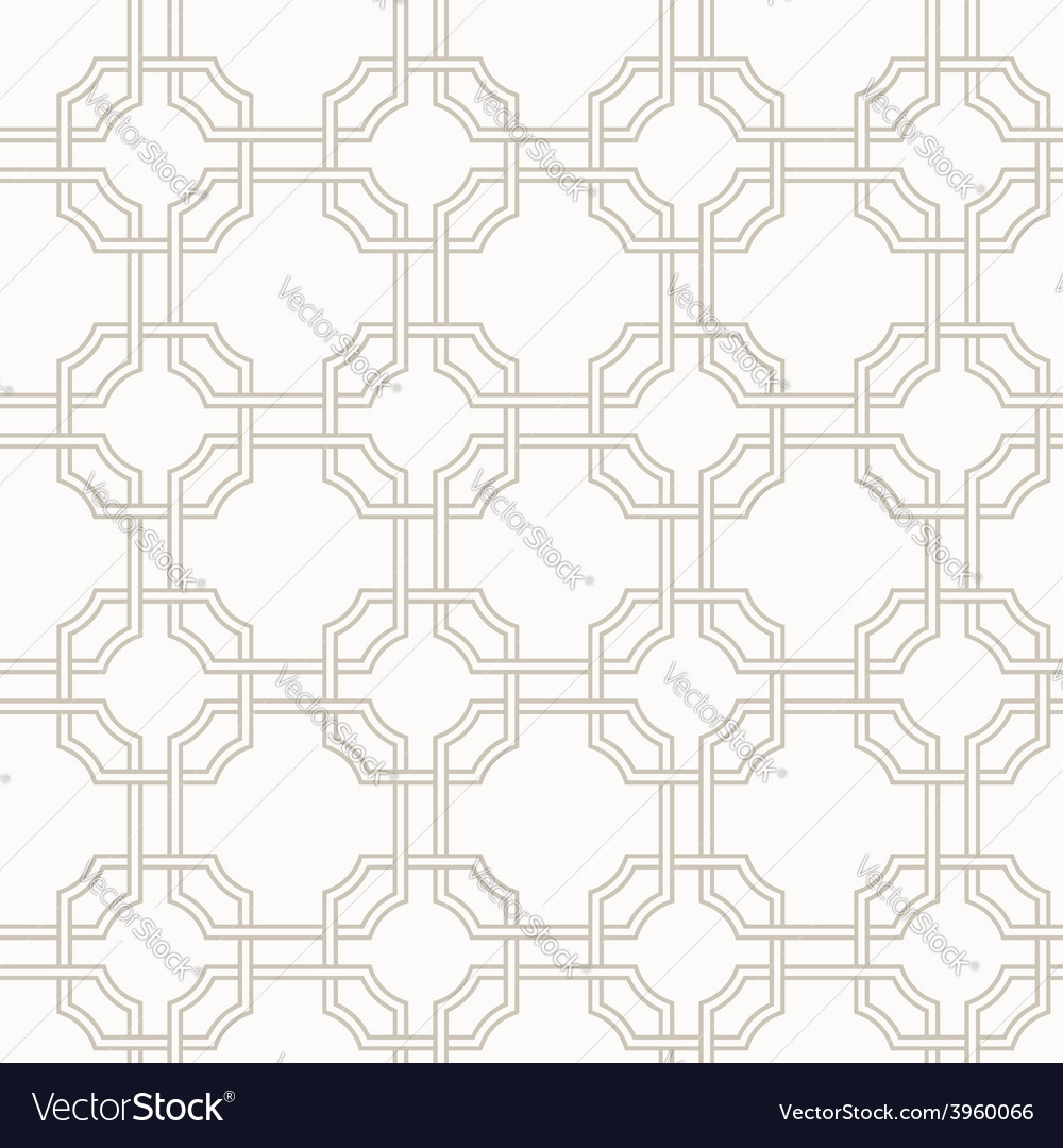 Traditional arabic tangled pattern in light brown vector | Price: 1 Credit (USD $1)