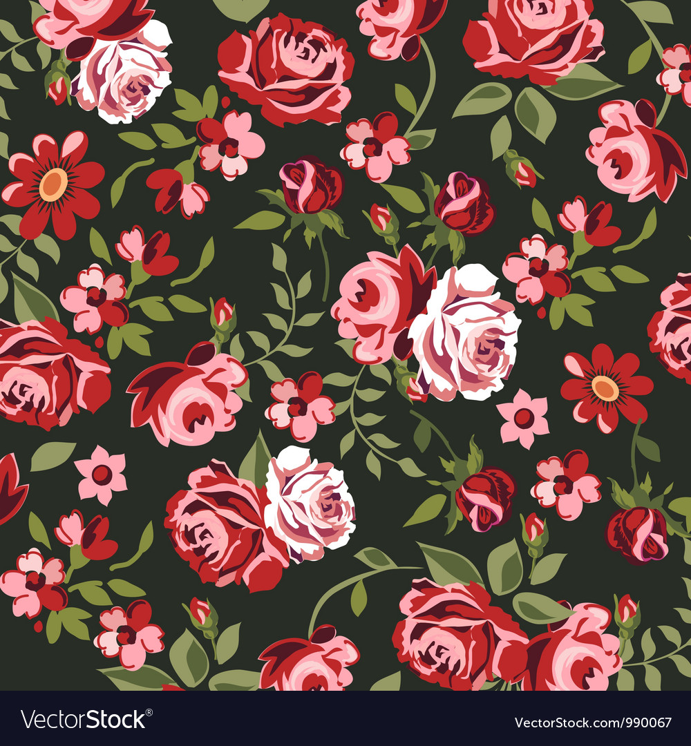 Classic roses vector | Price: 1 Credit (USD $1)