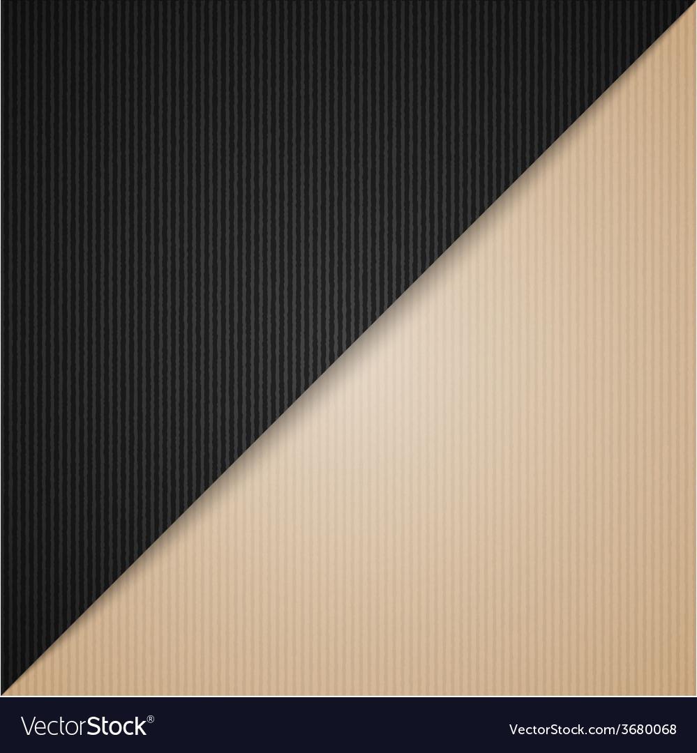 Brown and black cardboard vector | Price: 1 Credit (USD $1)