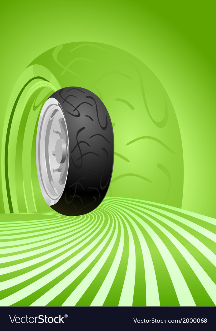 Motorcycle tire vector | Price: 1 Credit (USD $1)