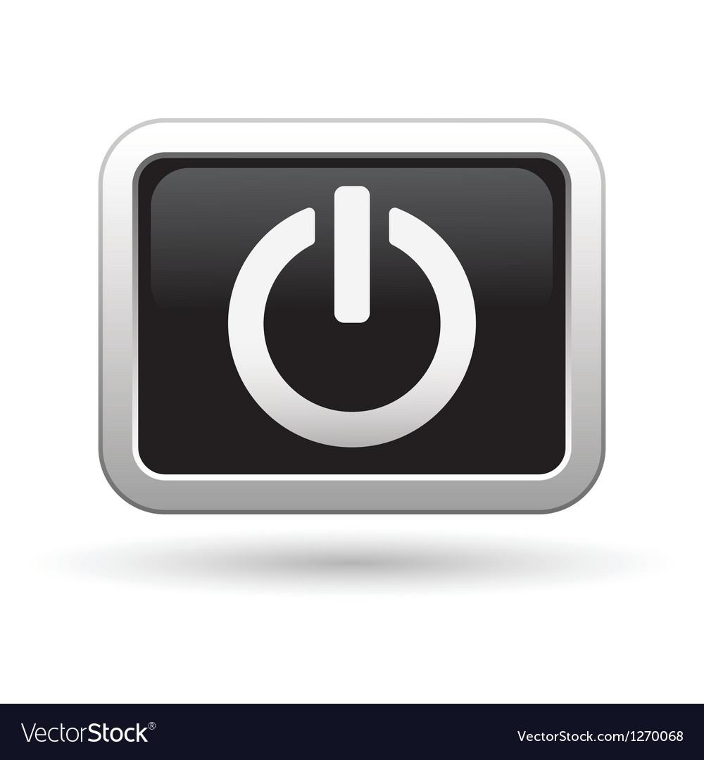 Power icon vector | Price: 1 Credit (USD $1)