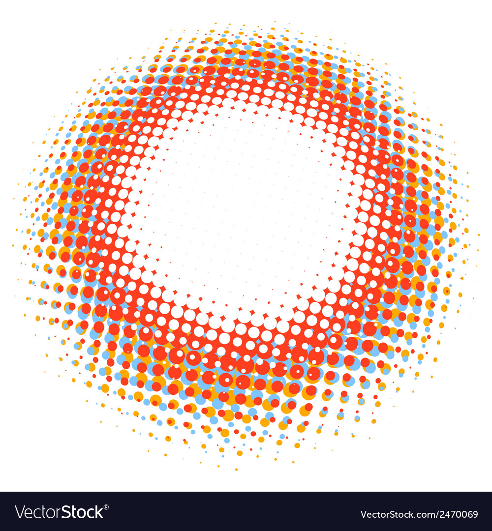 Abstract digital blob halftone flash plus eps10 vector | Price: 1 Credit (USD $1)