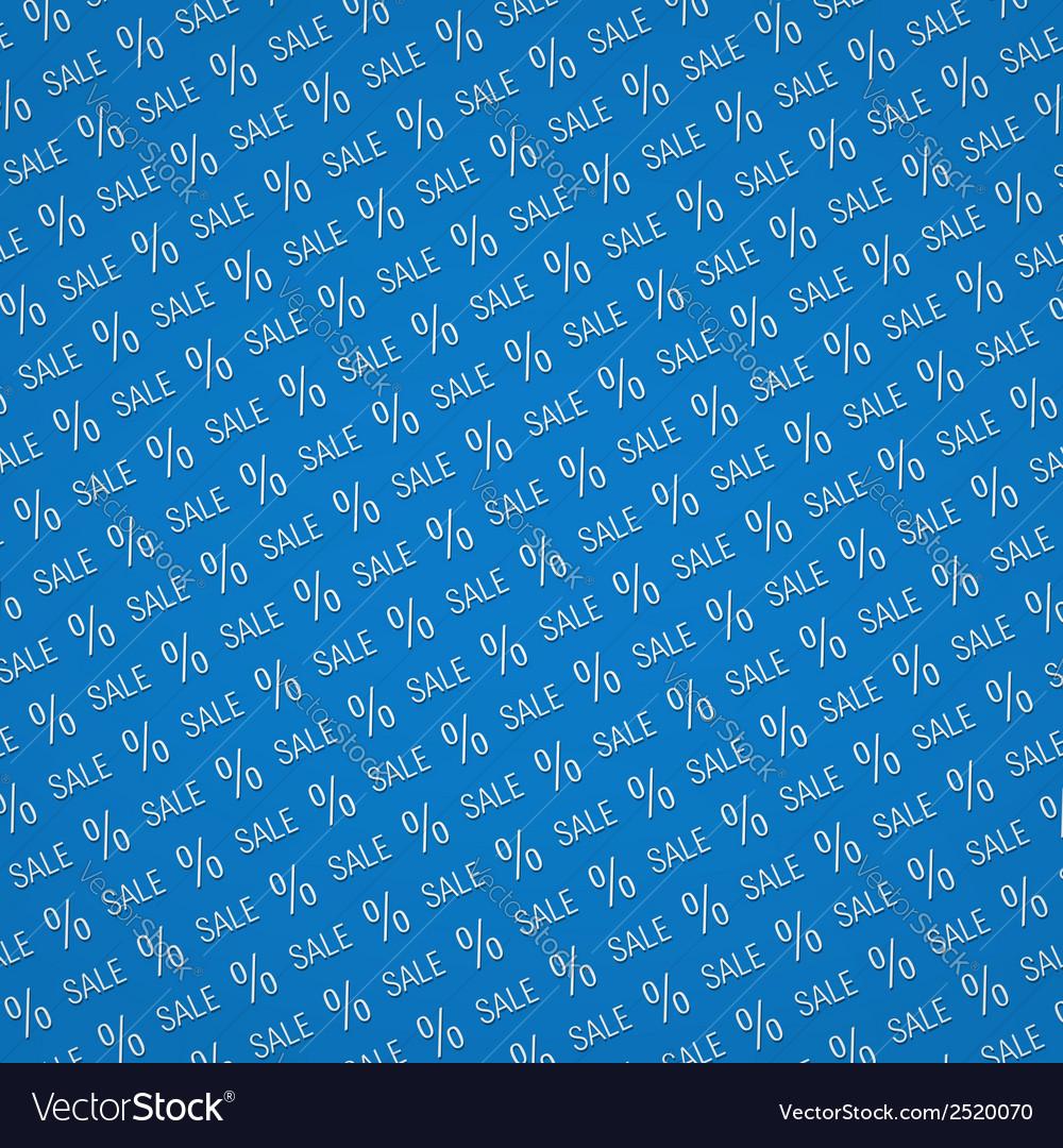 Blue sale background vector | Price: 1 Credit (USD $1)