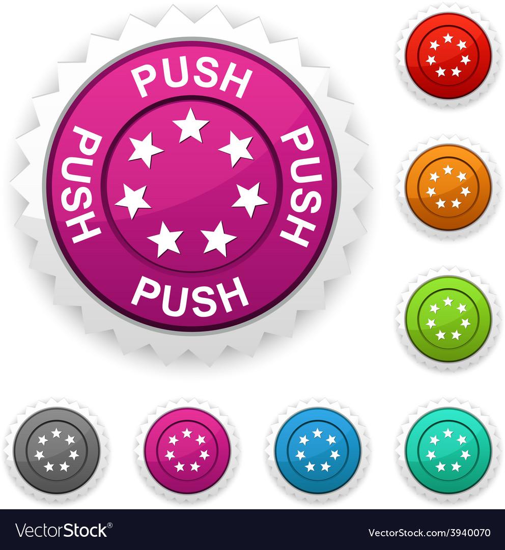Push award vector | Price: 1 Credit (USD $1)