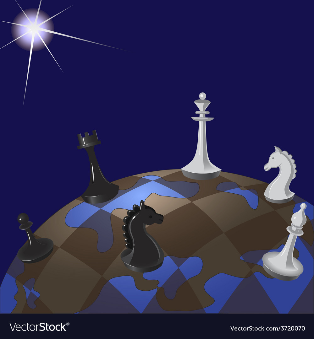World chessboard vector | Price: 1 Credit (USD $1)