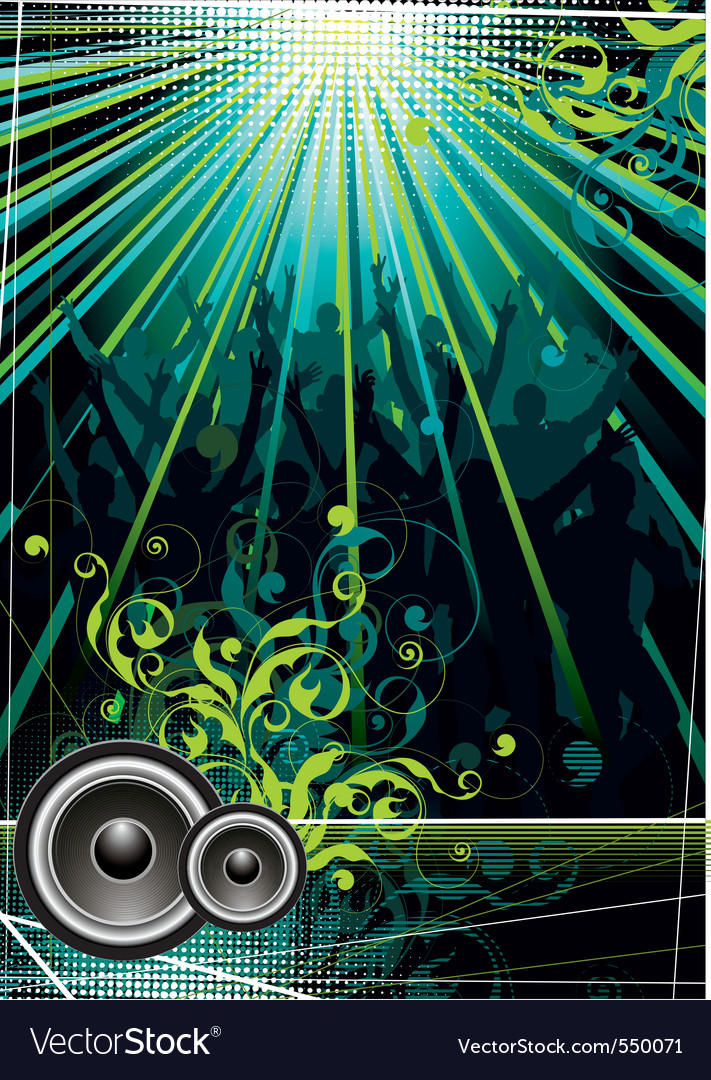 Club life vector | Price: 1 Credit (USD $1)