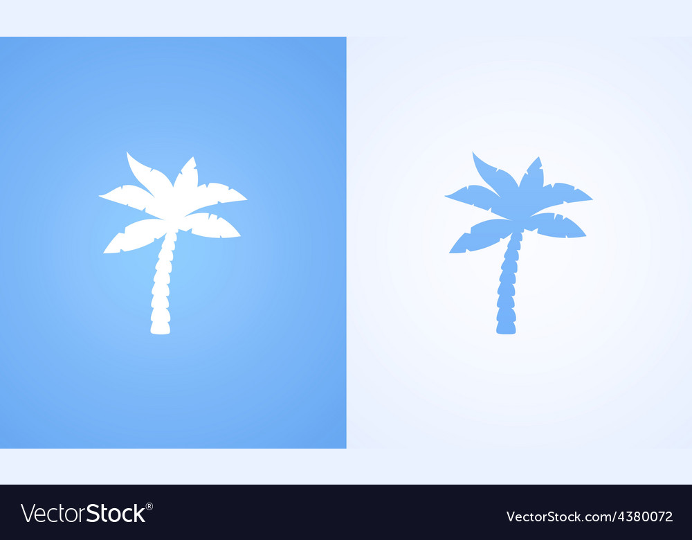 Coconut palm vector | Price: 1 Credit (USD $1)