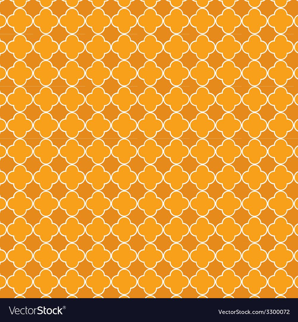 Quatrefoil orange vector   Price: 1 Credit (USD $1)