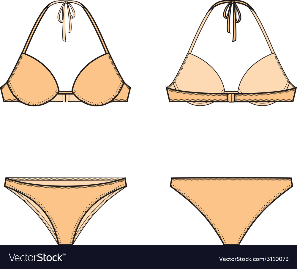 Bikini vector | Price: 1 Credit (USD $1)